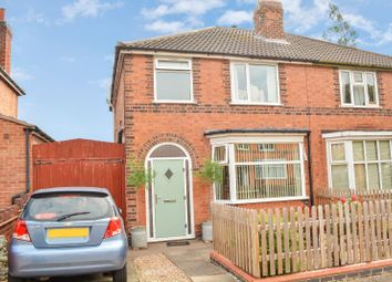 Thumbnail 2 bed semi-detached house for sale in Queens Road, Clarendon Park, Leicester