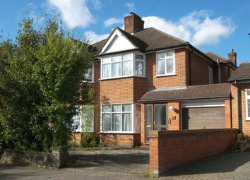 Thumbnail 3 bed semi-detached house to rent in Francklyn Gardens, Edgware