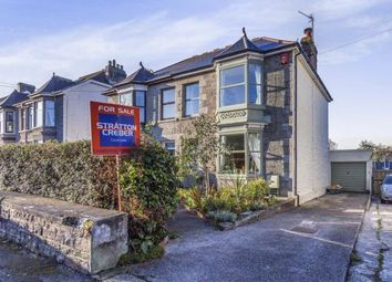 Thumbnail 3 bed semi-detached house for sale in Camborne, Cornwall, U.K.