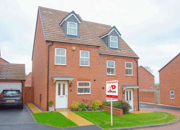 Thumbnail 3 bed semi-detached house for sale in Westbury Place, Redditch