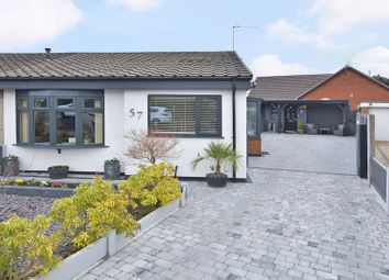 Thumbnail 1 bed bungalow for sale in Derwent Crescent, Kidsgrove, Stoke-On-Trent