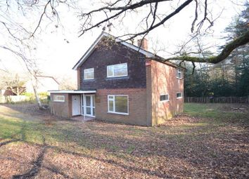 Thumbnail 3 bed detached house to rent in Cricket Hill Lane, Yateley