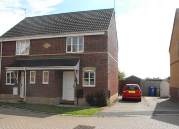 Thumbnail 2 bedroom semi-detached house to rent in Poppy Close, Worlingham, Beccles
