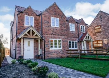 Thumbnail 3 bed semi-detached house for sale in Station Road, Upper Broughton