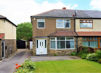 Thumbnail 3 bed semi-detached house for sale in Club Lane, Halifax