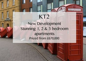 Thumbnail 3 bed flat for sale in Brough Close, Richmond Road, Kingston Upon Thames