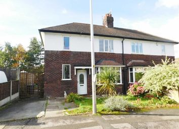 Thumbnail 3 bed semi-detached house for sale in Springbank Road, Woodley, Stockport