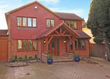 Thumbnail Detached house for sale in Manor Drive, Hartley, Longfield