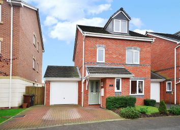 Thumbnail 4 bed detached house for sale in Primrose Close, Leek