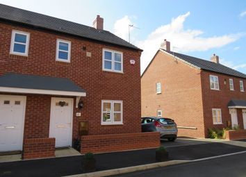 Thumbnail 3 bed semi-detached house for sale in Camberley Way, Meon Vale, Stratford-Upon-Avon