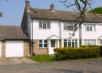 Thumbnail 3 bed semi-detached house for sale in Long Melford, Sudbury, Suffolk