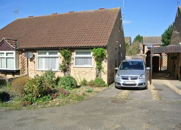 Thumbnail 2 bedroom semi-detached bungalow for sale in 5 Carholme Close, Bourne, Lincolnshire