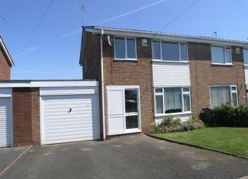 Thumbnail 3 bed semi-detached house for sale in Moorfield Drive, Halesowen