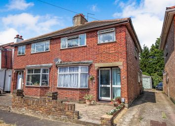 Thumbnail 3 bed semi-detached house for sale in Claremont Close, Hersham, Walton-On-Thames