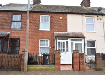 Thumbnail 2 bed terraced house for sale in Clarkes Road, Dovercourt, Harwich, Essex