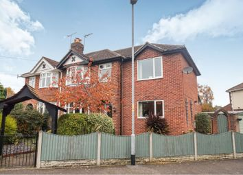 Thumbnail 4 bed semi-detached house for sale in Harrington Avenue, Lincoln