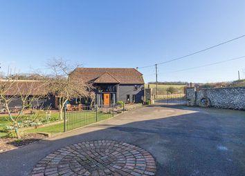 Thumbnail 6 bed barn conversion for sale in Pett Road, Stockbury, Sittingbourne