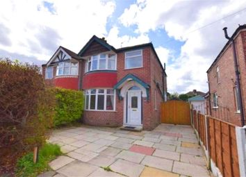Thumbnail 3 bedroom semi-detached house to rent in Burton Avenue, Timperley, Altrincham