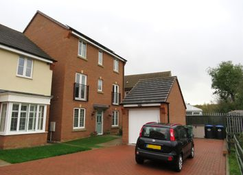 Thumbnail 4 bed detached house for sale in Thruxton Place, Rugby
