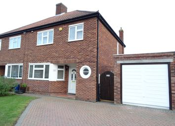 Thumbnail 3 bed semi-detached house for sale in Wendley Drive, New Haw