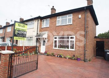 Thumbnail 3 bed town house to rent in Northway, Orford, Warrington