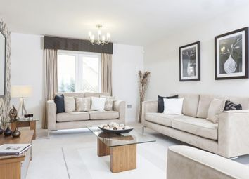"Thumbnail 4 bed terraced house for sale in ""Taunton"" at Pedersen Way, Northstowe, Cambridge"