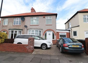 Thumbnail 3 bed semi-detached house for sale in Hadrian Road, Newcastle Upon Tyne