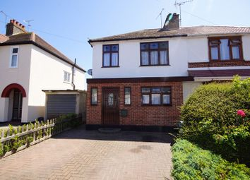 Thumbnail 3 bed semi-detached house for sale in Caulfield Road, Shoeburyness