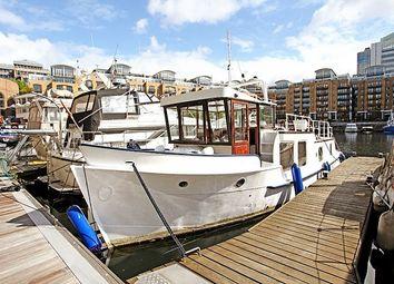 Thumbnail 1 bedroom houseboat for sale in St Katharine Dock, London