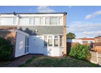 Thumbnail 3 bed end terrace house for sale in Hawkinge Drive, Birmingham