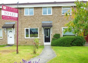 Thumbnail 3 bed terraced house to rent in Buttermere Drive, Dronfield Woodhouse, Dronfield