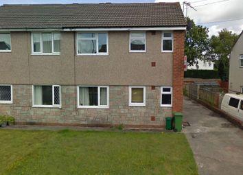 Thumbnail 1 bed flat to rent in Cynan Close, Beddau, Pontypridd