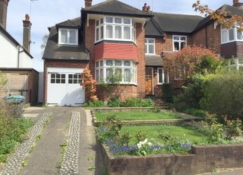 Thumbnail 4 bed semi-detached house to rent in Ringwood Avenue, East Finchley, London