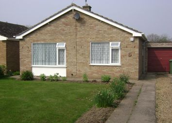 Thumbnail 2 bed bungalow to rent in Overstone Drive, Coldham, Wisbech