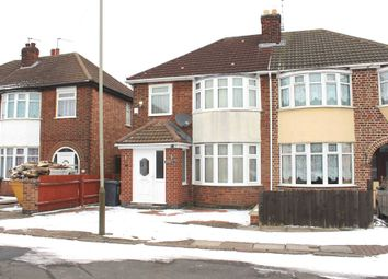 Thumbnail 3 bed semi-detached house for sale in Pauline Avenue, Belgrave, Leicester