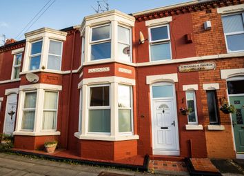 Thumbnail 3 bed terraced house for sale in St. Michaels Church Road, Aigburth
