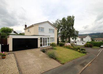 Thumbnail 4 bed detached house for sale in Elms Road, Govilon, Abergavenny