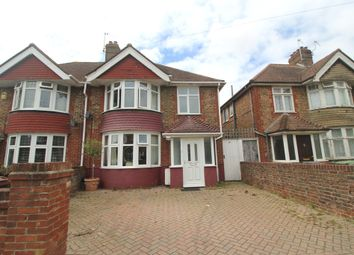 Thumbnail 3 bed semi-detached house for sale in Astaire Avenue, Roselands, Eastbourne