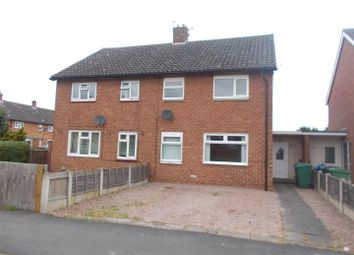 Thumbnail 3 bed semi-detached house to rent in Kynaston Road, Shrewsbury