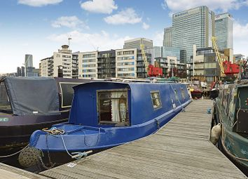 Thumbnail 1 bed houseboat for sale in Boardwalk Place, London
