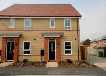 Thumbnail 3 bedroom semi-detached house to rent in Albert Crescent, Hampton Vale, Peterborough