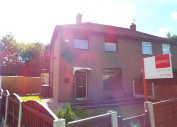 Thumbnail 2 bedroom semi-detached house for sale in Marlborough Road, Eccles, Manchester, Greater Manchester