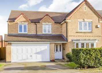 Thumbnail 5 bed detached house for sale in Billesdon Close, Leicester, Leicestershire