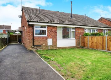 Thumbnail 2 bedroom semi-detached bungalow for sale in Shipton Drive, Uttoxeter