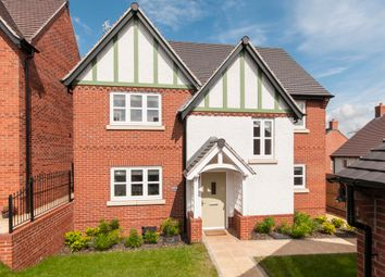 Thumbnail 4 bed detached house for sale in Martinet Close, Castle Donington, Derby