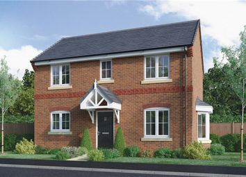 "Thumbnail 3 bed detached house for sale in ""Milton"" at Edwin Close, Cawston, Rugby"