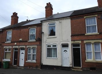 Thumbnail 2 bedroom terraced house for sale in Stanley Road, Forest Fields, Nottingham