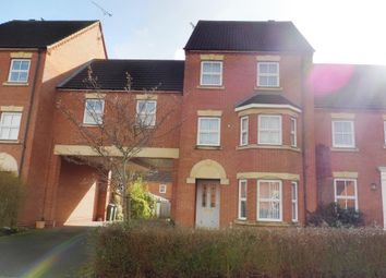 Thumbnail 4 bed town house for sale in Bromhurst Way, Chase Meadow Square, Warwick
