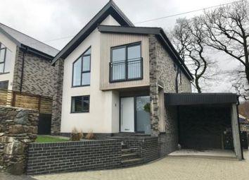 Thumbnail 4 bedroom detached house for sale in Trem Y Chwarel, Fron Goch, Llanberis