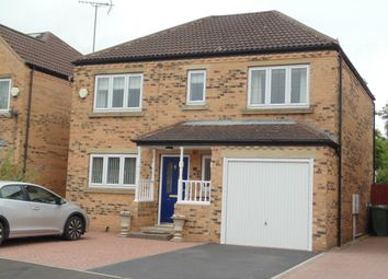 Thumbnail 4 bed detached house to rent in Wickham Way, Driffield